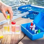 Skład zestawu chemii basenowej do basenów ogrodowych