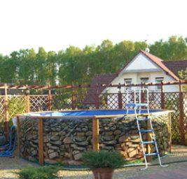 Baseny ogrodowe – podział i charekterystyka