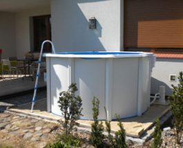 Lokalizacja basenu ogrodowego